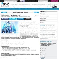 Fiche métier : webmarketeur