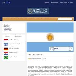 Fiche Pays – Argentine