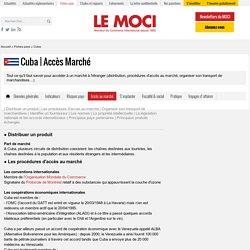 Fiche pays Cuba - Le Moci