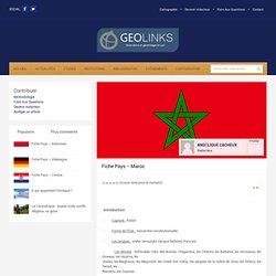 Fiche Pays – Maroc