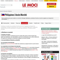 Fiche pays Philippines - Le Moci