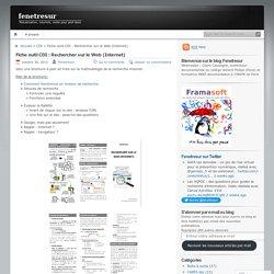 Fiche outil CDI : Rechercher sur le Web (Internet)