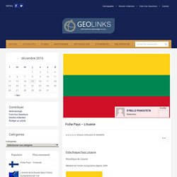Fiche Risque Pays Lituanie