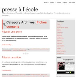 Fiches conseils Archives
