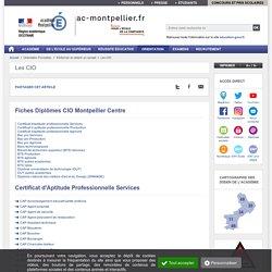 Fiches Diplômes CIO Montpellier Centre - ac-montpellier