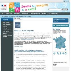 Les fiches - Le guide - Vos droits - Espace droits des usagers