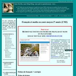 Exercices gratuits CM2 français et math