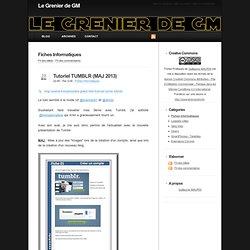 Fiches Informatiques - Le Grenier de GM