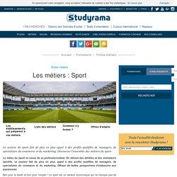 Fiches Métiers : Sport - Studyrama.com