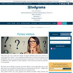 Fiches Métiers - Studyrama.com