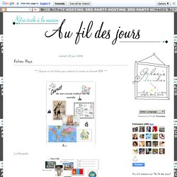 Fiches- Pays