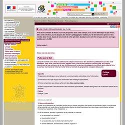 Fiches pédagogiques - Ressources pour la classe