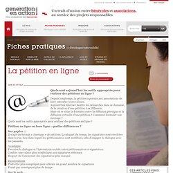 La pétition en ligne : les nouveaux outils sont-ils efficaces ?