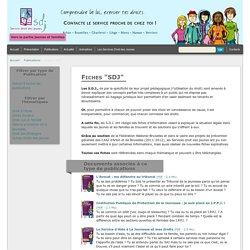 """Fiches """"SDJ"""" - SDJ Service droits des jeunes"""