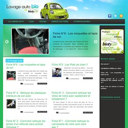 Lavage auto bio by Biotycar