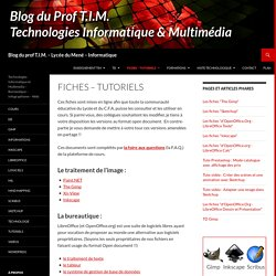 Fiches et Tutoriels, Technologie et Multimédia