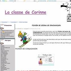 FICHIER DE LECONS DE CONJUGAISON