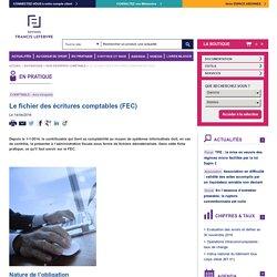 Le fichier des écritures comptables (FEC)