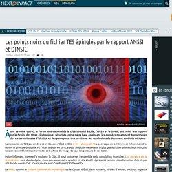 Les points noirs du fichier TES épinglés par le rapport ANSSI et DINSIC