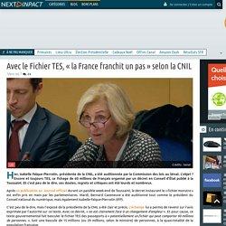 Avec le Fichier TES, «la France franchit un pas» selon la CNIL