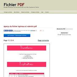 Aperçu du fichier lapinous st valentin.pdf - Page 2/4
