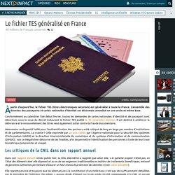 Le fichier TES généralisé en France