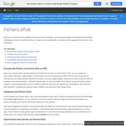 Fichiers ePub - Centre d'aide Books