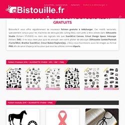 Fichiers gratuits pour Silhouette Caméo/Portrait/Curio, ScanNCut, Cricut