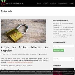 Activer les fichiers .htaccess sur Raspbian