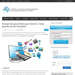 Envoyer des gros fichiers par Internet : 5 sites gratuits et sans inscription