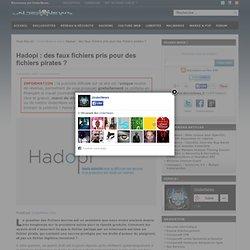 Hadopi : des faux fichiers pris pour des fichiers pirates ?