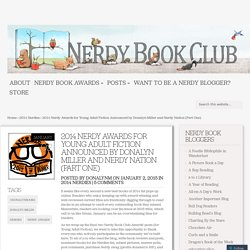 2014 Nerdy Awards for Young Adult Fiction