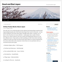 50 Non-Fiction Books About Japan