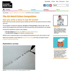 The 50-Word Fiction Competition