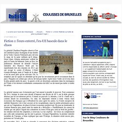 Fiction 1: l'euro enterré, l'ex-UE bascule dans le chaos