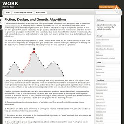 Fiction, Design, and Genetic Algorithms