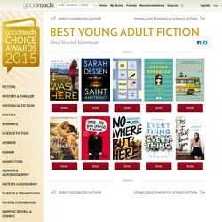 Best Young Adult Fiction 2015 — Goodreads Choice Awards