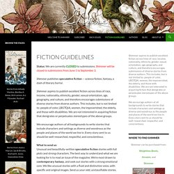 Fiction Guidelines
