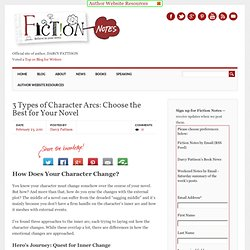 3 Types of Character Arcs: Choose the Best for Your Novel