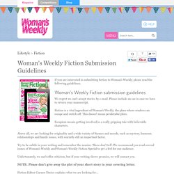 Woman's Weekly Fiction Submission Guidelines