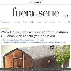 Fiction Factory: Wikkelhouse, las casas de cartón que duran 100 años y se construyen en un día