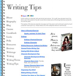 fantasy writing tips Five tips for planning a fantasy novel if you want to write a fantasy novel then follow these planning tips writing a fantasy novel is great fun – you can.