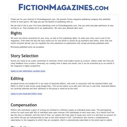 FictionMagazines.com Submission Manager