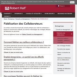 Fidélisation des collaborateurs