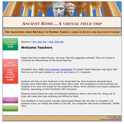 Field Trip to Ancient Rome