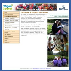 Fieldwork & school-led courses