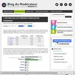 1 site web sur 4 est fièrement propulsé par WordPress