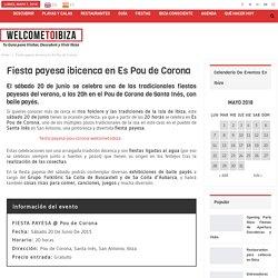 Fiesta payesa en el Pou de Corona de Ibiza