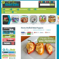 Fiesta Stuffed Mini Peppers Recipe