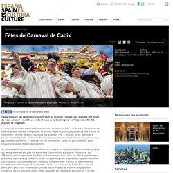 Fiestas de Carnaval, fêtes, célébrations en Espagne.